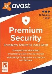 Avast Premium Security (10 Geräte / 1 Jahr) kaufen