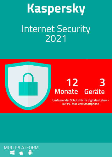Kaspersky Internet Security 2021 (3 Geräte / 12 Monate) kaufen