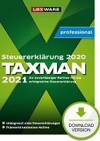 Taxman professional 2021 (für Steuerjahr 2020) 5-Platz-Lizenz Abo Download kaufen