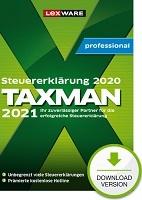 Taxman professional 2021 (für Steuerjahr 2020) 7-Platz-Lizenz Abo Download kaufen