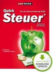 Lexware QuickSteuer 2021 (für Steuerjahr 2020) Download kaufen
