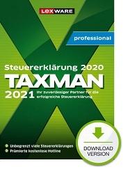 Lexware Taxman professional 2021 (für Steuerjahr 2021) 3-Platz-Lizenz Download kaufen